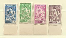 ALGERIE  ( D18 - 49 )  1944   N° YVERT ET TELLIER   N°  205/208  N** - Neufs