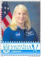 Ukraine 2017, Space, American Astronaut Rubins, 1v - Ukraine