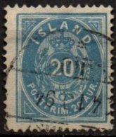 ISLANDE - 20 A. De 1882 Oblitéré TB - Oblitérés