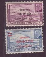 Saint-Pierre-et-Miquelon N ° 312  à  313**et 314** - St.Pierre & Miquelon