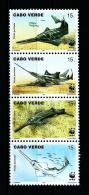 Cabo Verde  Nº Yvert  700/3 (WWF)  En Nuevo - Islas De Cabo Verde