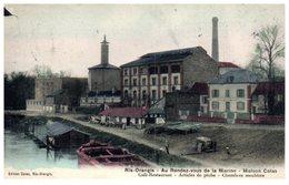 91 - RIS ORANGIS -- Au Rendez Vous De La Marine- Maison COLAS - Café Restaurant..... - Ris Orangis