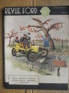 1953 REVUE FORD  Du 50ème ANNIVERSAIRE 1903-1953 - CONSUL - MERCURY - LINCOLN-CAPRI - MAINLINE V-8 - LINCOLN V-8 - ZOUTE - Voitures