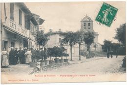 POUVOURVILLE - Place Du Centre - France