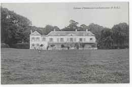 Cpa Bon Etat , Château D'hendecourt-les-cagnicourt  , Carte Rare - France