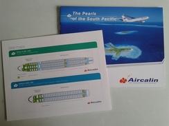 Alt982 Aircalin Air Caledonie International Airlines Flights Airbus Pacific Japan Tahiti Australia Fiji Vanuatu Plane - Materiale Promozionale