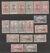 Martinique N° 61 à 77  (61,62,64,66,68 à 70 Et 75 ** - 63,65,67,71 à 74, 76 Et 77 *) - Martinique (1886-1947)