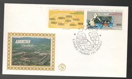 FDC Italia 1983 GOLD Filagrano FIAT MIRAFIORI Da Lire 400 + 400 - F.D.C.