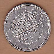 AC - ELECTRO WPRLD SPECIAALZAAK WERELD MUNT 1997 TOKEN JETON - Noodgeld