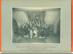 """Grande Photo De Saint Mandé """" Remise Des Insignes De La Légion D'honneur à Mr Charles Digeon Maire """"12 Decembre1931 - Personnes Identifiées"""
