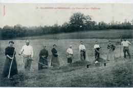 71 - SAINT LAURENT EN BRIONNAIS - Fenaison Aux Chaffauds - Agriculture - Frankrijk