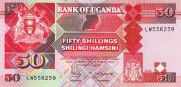 Uganda (BOU) 50 Shillings 1994 UNC Cat No. P-30c / UG134d - Uganda