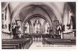 25  BULLE   Intérieur De L'église - France