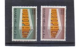 BAU954 EUROPA-CEPT 1969 GRIECHENLAND MICHL  1004/05  Postfrisch SIEHE ABBILDUNG - Griechenland