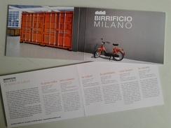 Alt988 Birrificio Milano Bier Biere Birra Artigianale Brewery Container Piaggio Ciao Vintage Moto Scooter Retrò - Altre Collezioni
