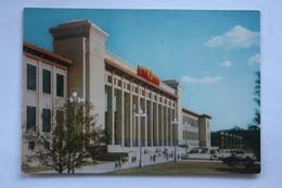 China. Beijing. Peking. Chinese Revolution Museum - Propaganda At The Street  -  Old Postcard - 1950s - - Cina