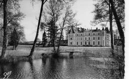 Baugé.. Belle Vue Du Château De Grésillon Maison Culturelle De L'Espéranto
