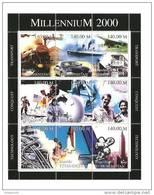 Turkmenistan - Serie Completa Nuova In Foglietto: Millenio 2000 - Turkmenistan