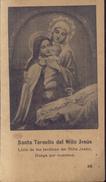 ESTAMPITA ANTIGUA - SANTA TERESITA DE JESUS (#20) - Religión & Esoterismo