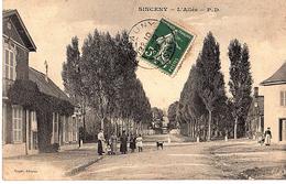 02 - SINCENY - L 'ALLEE // 208 - Francia