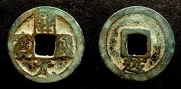 CHINA  - KAI YUAN TONG BAO  CLASS IV - REV : YUE Below  TANG DYNASTY  (618-907) KAIYUAN TONGBAO - CHINE - Chine