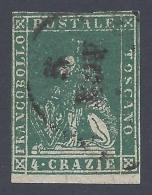 TOSCANA 1857 4cr VERDE Nº 14 - Toscana