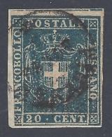 TOSCANA 1860 20c AZZURRO Nº 20 - Toscana