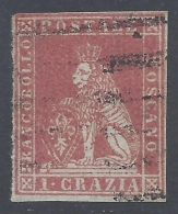TOSCANA 1851 1cr CARMINIO Nº 4 - Toscana