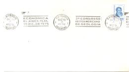 DEUXIÈME CONGRÈS LATINO-AMÉRICAIN GÉOLOGIE YEAR 1975 SEGUNDO CONGRESO IBEROAMERICANO DE GEOLOGIA SOBRE ENVELOPE RARISIME - Profesiones