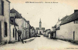 CPA, Loire Atlantique, Derval, Arrivée De Rennes - Derval