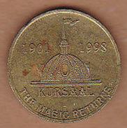 AC -  KURSAAL 1901 - 1998 THE MAGIC RETURNS TOKEN JETON - Monetary /of Necessity