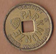AC -  SCHEIDT & BACHMANN GMBH PARKMÜNZE TOKEN JETON - Monetary /of Necessity