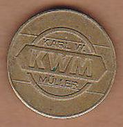 AC -  KWM KARL W MÜLLER 225 TOKEN JETON - Monetary /of Necessity