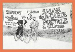 A626 / 337 95 - TAVERNY 1983 J.P. GIRARD Salon Carte Postale - France