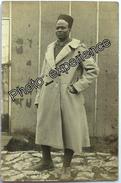 CPA Carte Photo Guerre 14-18 Militaire Noir Tirailleur Colonial Black Military WW1 - Guerre 1914-18