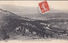 13-----RARE---LA SAINTE BEAUME--panorama Pris De La Route De Sainte-beaume---voir 2 Scans - France