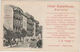 BAD ISCHL - HOTEL KAISERKRONE - Bad Ischl