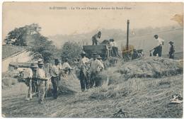 SAINT ETIENNE - Scène De Battages - Autour Du Rond-Point - Saint Etienne