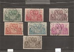 Congo Belge ( 185/191 Oblitérés) - Congo Belge