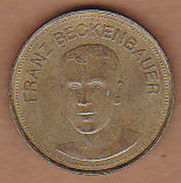 AC - FRANZ BECKENBAUER SHELL TRAUM ELF 1969 TOKEN - JETON - Monetary /of Necessity