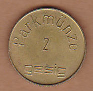 AC - PARKMUNZE 2 GESIG TOKEN - JETON - Monetary /of Necessity