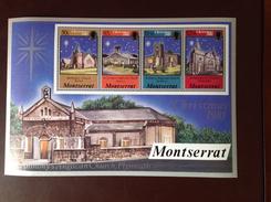 Montserrat 1981 Christmas Minisheet MNH - Montserrat