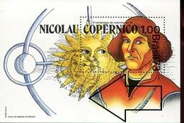 19804  Brasil, S/s MNH With Special First Day Postmark Rio J.  1973   - Kopernikus,copernic,kopernika, - Astronomùia