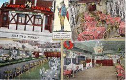11 June 1949; Schwaben-Hof Milwaukee, Ancien Couleur CPA, Légérement Plie; Lot 47447 - Milwaukee
