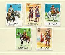 ESPAGNE  ( D18 - 182 )  1974  N° YVERT ET TELLIER  N°  1822/1826   N** - 1931-Aujourd'hui: II. République - ....Juan Carlos I