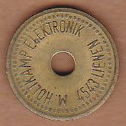 AC -  M HOLIKAMP ELEKTRONIK 4543 LIENEN TOKEN - JETON - Monetary /of Necessity