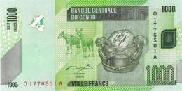 CONGO DEMOCRATIC REPUBLIC 1000 FRANCS 2005 (2012) P-101a UNC [ CD323a ] - Congo