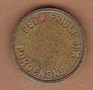 AC -  CED FRIULI SPA PORDENONE TOKEN - JETON - Monetary /of Necessity