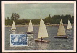 18428 Rússia Maximo Postal Tema Esportes Vela - Unclassified