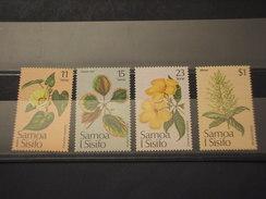 SAMOA  S. - 1981 FIORI/NATALE  4 VALORI - NUOVI(++) - Samoa